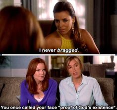 Desperate housewives, loved this show! damn shame they killed off Mike!