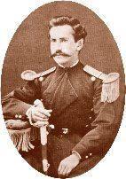 Coronel José Luis Araneda Carrasco. En 1875, es destinado al batallón Buin 1º de Línea, con el que estará presente en todas las campañas de la Guerra del Pacífico. Toma parte en el desembarco en Pisagua, es ascendido a capitán en 1880. Participa en la Batalla de Tacna, Arica y en toda la campaña por la toma de Lima. Durante la campaña de la sierra, al frente de un destacamento del Regimiento Buin, participa en la Batalla de Sangrar el 26 de junio de 1881.