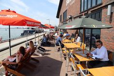 Patios will be open in Toronto this weekend - bless you, warm spring - so break out your Ray Bans and get to selecting the ideal spot to usher in p. Canada Eh, Toronto Canada, Rooftop Patio, Backyard Patio, Warm Spring, Canada Travel, Nice View, Amsterdam, The Good Place