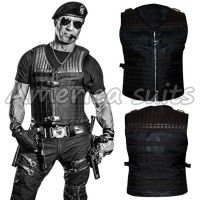 Fashionable Expendables 3 Sylvester Stallone Leather Vest  Another amazing product is presenting by AmericaSuits  The Expendables 3 is a 2014 A