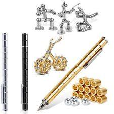 NEW Modular Pen Magnetic Magnets Ball Touch Pen Capacitance 12 Steel Balls
