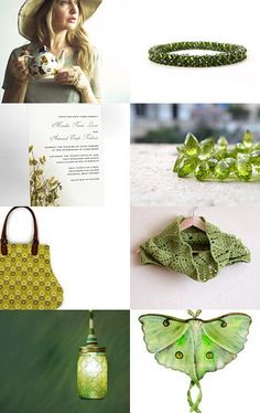 Peridot for August birthdays --Pinned with TreasuryPin.com
