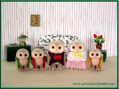 Remember Sylvanian Families? I used to play with these when I was a kid. Now you can only find them on Ebay or order them from the UK.