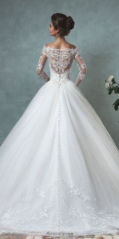 beautiful ballgown wedding gowns 1