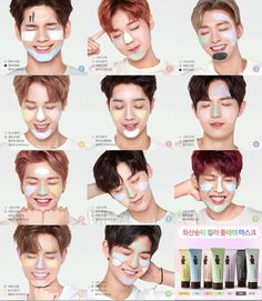 Wanna One Innisfree 3 In One, One Pic, K Pop Star, Produce 101 Season 2, Ong Seongwoo, Kim Jaehwan, Ha Sungwoon, Innisfree, Ji Sung