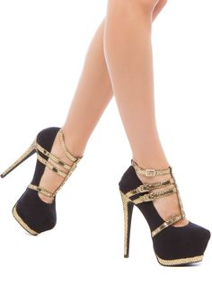 I would buy these, call them my stripper shoes, and then promptly wear them in public xD