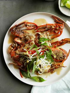 Crab steamed in beer // gourmet traveler