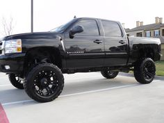 Chevy Silverado. I have wanted a Silverado since I was in elementary school. It has always been at the top of my list. 4 door, 4X4, lifted and all black of course.