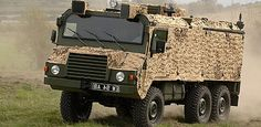 Vector is a light protected patrol vehicle based on a 6 x 6 Pinzgauer chassis developed for eight-hour patrol missions over varying terrain. Vector is utilised as a command vehicle and troop carrier and for both urban and rural patrolling. It has the capacity to mount two General Purpose Machine Guns on the roof for mobile fire support, if required. Vector also has a bespoke ambulance variant in order to match the mobility of the convoys the vehicle supports.