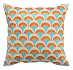 Beach Themed Orange & Yellow Pillows for Sale - Cottage & Bungalow