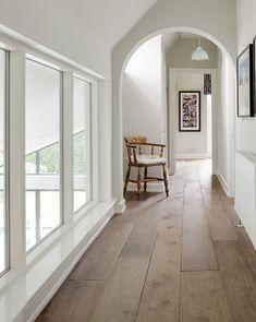 Grey Engineered Wood Flooring, Grey Wood Floors, Wooden Flooring, Grey Walls, Hardwood Floors, Evoke Flooring, Painted Floors, Flooring Ideas, Hall Flooring