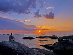 Sunset.... Location : Belitung Island - Bangka Belitung - South Sumatra