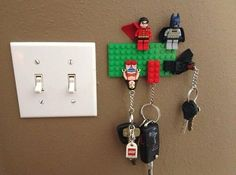 Lego Keyrings / Keyholder