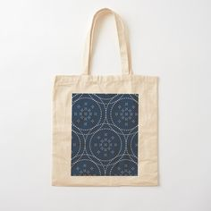 Cotton Tote Bags, Reusable Tote Bags, Japanese Patterns, Custom Bags, Pattern Design, How To Draw Hands, Art Prints, Printed, Awesome