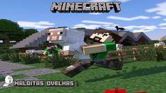 OVELHAS MALDITAS ! Minecraft A Série #02
