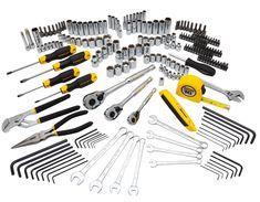 Mixed Tool Set Garage DIY Carpenter Repair Handy Mechanic Wrench Plier 210 Piece for sale online