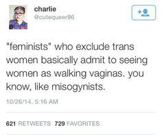 Feminism must include trans women