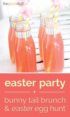 Easter egg hunts are a big deal in our family. We go all out and plan hunts that the whole family can be a part of. This year, you can host a Bunny Tail Brunch and Easter Egg Hunt with your own family.
