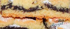Recept Křehký makový koláč s povidly Hot Dog Buns, Hot Dogs, Pie, Bread, Food, Pineapple, Torte, Cake, Fruit Cakes