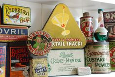 Collection of old tins by adambangor, via Flickr
