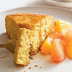Tuscan Cake with Citrus Compote | Learn how to make Tuscan Cake with Citrus Compote. MyRecipes has 70,000+ tested recipes and videos to help you be a better cook
