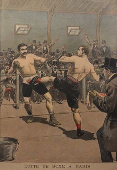 Antique 1900s Print France England Boxing French Le Petit Journal 1906 Newspaper | eBay