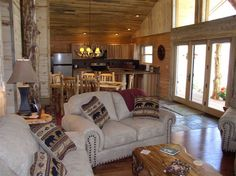 Someday Cabin On Pinterest Log Cabin Interiors Log Cabins And Cabin