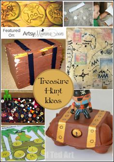 Treasure Hunt Ideas for Talk Like a Pirate Day