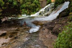 Hot springs in Flores - Flores Island-Manggarai-Ruteng, Nusa Tenggara Timur- Indonesia