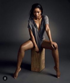 Keke Palmer is the queen of sensual photoshoots - Image 4 Keke Palmer, Dope Swag Outfits, Zendaya Coleman, Female Poses, The Victim, Hollywood Celebrities, Timeless Beauty, Beautiful Black Women, Girls
