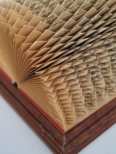Tiny folds in an old book Rare Notions - Emotive close up 2010