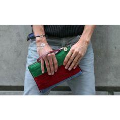 Clutch by @begartbags / Bracelets #Alosh