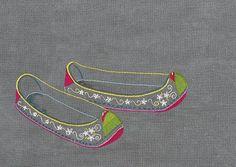#야생화자수 #꽃신 #꿈소 #꿈을짓는바느질공작소 #embroidery #flowershoes Embroidery On Clothes, Embroidery Applique, Embroidery Stitches, Embroidery Patterns, Stitch Patterns, Colorful Cakes, Korean Art, Fiber Art, Needlework