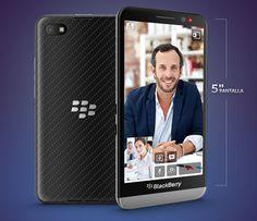 BlackBerry Z30 ya disponible en México con Telcel.