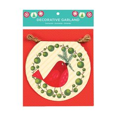 Tree Top Birds garland from Galison