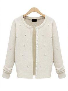 Women Long Sleeve Single Breasted Sweater Coat
