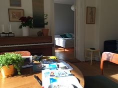 Our apartment in Stockholm