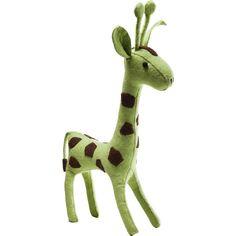 Deco Figurine Felt Giraffe - KARE Design #giraffe #green #felt #decoration #style #sweet #trend #wildathome #safari #style #cozy #kare #karedesign
