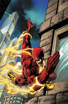 The Flash by Tyler Kirkham