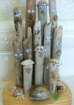Items similar to Humorous Comical Driftwood Sculpture for your beach house on Etsy Driftwood Furniture, Driftwood Projects, Diy Projects, Unusual Facts, Weird Facts, Strange Facts, Driftwood Sculpture, Driftwood Art, Metal Crafts