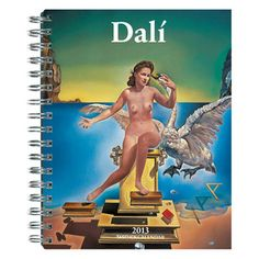 Dalí Spiral Diary 2013, $12.50, now featured on Fab. Museu Salvador Dali, Salvador Dali Paintings, Max Ernst, Figueras, Barcelona Spain, Picasso, Photo D Art, Spanish Painters, Magritte
