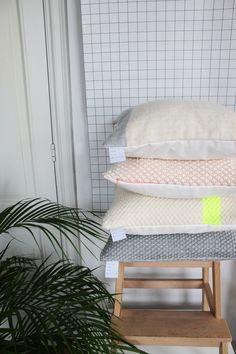 Hand Woven Cushions by Julie Van den Meutter