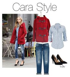 Cara Style by dop37 on Polyvore featuring polyvore, fashion, style, maurices, Burberry, Rebecca Minkoff and Lipsy