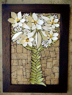 Nikki Inc Mosaics. Creative mosaic, diy, home decor, artwork, colorful… Mosaic Artwork, Mosaic Wall Art, Mosaic Diy, Mosaic Garden, Mosaic Crafts, Mosaic Projects, Mosaic Glass, Glass Art, Mosaic Ideas