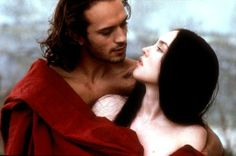 Isabelle Adjani & Vincent Perez in The Queen Margot, by Patrice Chéreau.