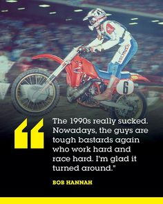 The 1984 AMA Supercross Championship featured some of the greatest racers of all times. David Bailey, Johnny O'Mara, Rick Johnson, Ron Lechien, and Bob Hannah tell us all about it. Read our exclusive feature 1984 in the July '17 issue of Racer X Illustrated. [Link in bio] #Supercross #1984 #DirtBike #Magazine #Subscribe