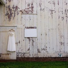 what's not pretty about a wedding dress and a barn? Stony Brook, Acre, 19th Century, Restoration, Wedding Dress, Weddings, Landscape, Building, Pretty