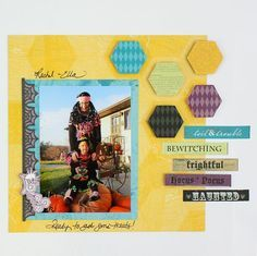 creative memories color vibe layout - Google Search
