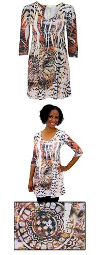 Bengali Dazzle Sublimation Tunic at The Hunger Site