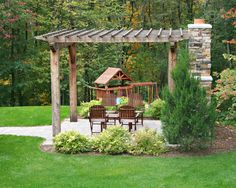 Landscape Rustic Backyard Ideas Design, Pictures, Remodel, Decor and Ideas - page 14